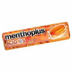 Caramelos Ácidos Menthoplus Naranja x 27 g.