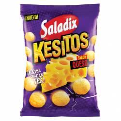 Bolas de Maíz Kesitos Saladix Snack Sabor Queso x 38 g.