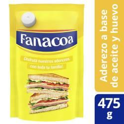 Mayonesa Fanacoa Doy Pack x 475 g.