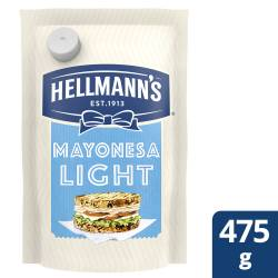 Mayonesa Hellmanns Light Doy Pack x 475 cc.