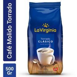Café Molido Clásico La Virginia x 500 g.