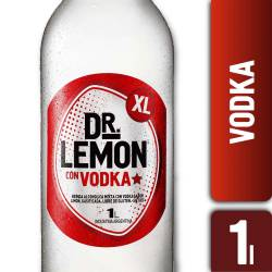 Dr. Lemon Vodka sabor Limón x 1 lt.