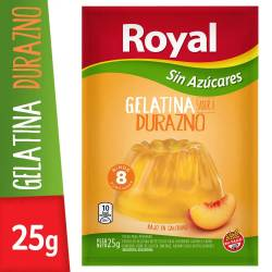 Gelatina en Polvo Light Royal Durazno x 25 g.