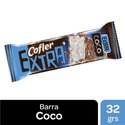 Barra de Coco Cofler Extra con Chocolate x 32 g.