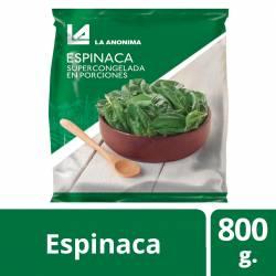 Espinaca Súper La Anónima x 800 gr.