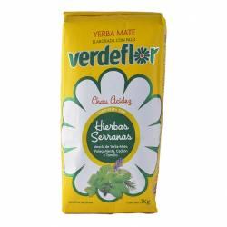 Yerba Compuesta Verdeflor con Hierbas Serranas x 1 Kg.