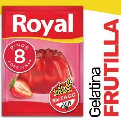 Gelatina en Polvo Royal Frutilla x 40 g.