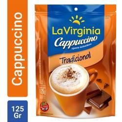 Café Instantáneo Tradicional Cappuccino Doy Pack La Virginia x 125 g.