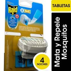 Insecticida Aparato Raid + 4 Tabletas x 1 un.
