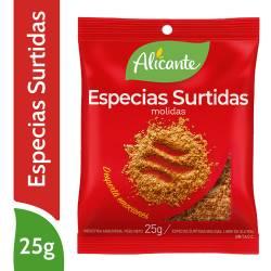 Especias Surtidas Alicante Naturalidad Intacta x 25 g.