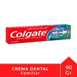 Crema Dental Triple Acción Colgate x 90 g.