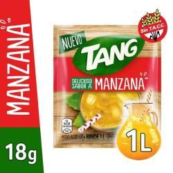 Polvo para preparar jugo Tang Manzana x 18 g.