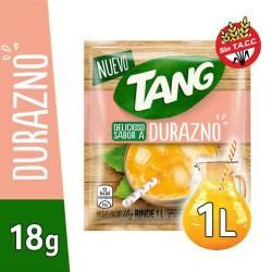 Polvo para preparar jugo Tang Durazno x 18 g.