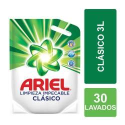 Jabón Líquido Limpieza Impecable Ariel Doy Pack x 3 lt.