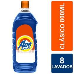 Jabón Líquido Ace Acción Instantánea Botella x 800 cc.