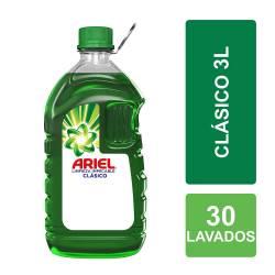 Jabón Líquido Limpieza Impecable Ariel Botella x 3 lt.