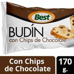 Budín con Chips de Chocolate Best x 170 g.