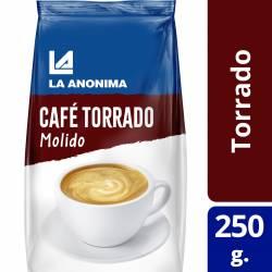 Café Torrado Molido La Anónima x 250 g.