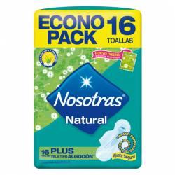 Toalla Femenina Nosotras Plus Econo Pack x 16 un.