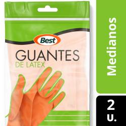 Guantes de Látex Best Mediano x 1 un.