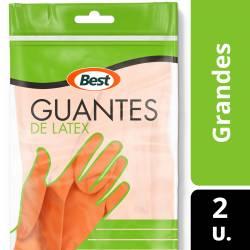 Guantes de Látex Best Grande x 1 un.