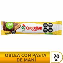 Oblea de Arroz con Maní Gallo Snacks ChocoBar x 20 g.