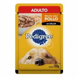 Alimento para Perro Adulto Pouch Pollo Pedigree x 100 g.