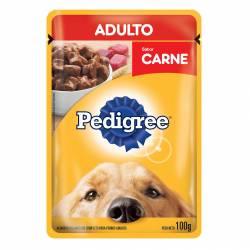 Alimento para Perro Adulto Pouch Carne Pedigree x 100 g.