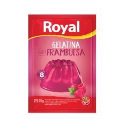 Gelatina en Polvo Royal Frambuesa x 40 g.