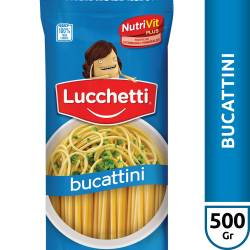 Fideos Bucattini Lucchetti x 500 g.