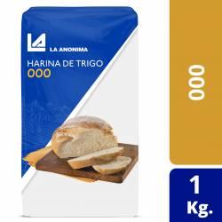Harina de Trigo 000 La Anónima x 1 Kg.
