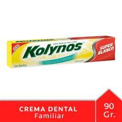 Crema Dental Kolynos Súper Bco Frescura Intensa x 90 g.