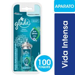 Aromatizante Ambiente Repuesto Glade Vida Intensa x 12 cc.