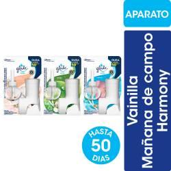 Aceites Naturales Aparato + Repuesto Surtido Glade x 21 cc.