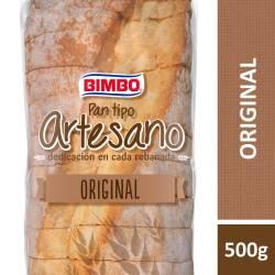 Pan Blanco Tipo Artesano Bimbo x 500 g.