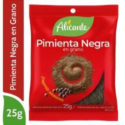Pimienta Negra Alicante en Granos x 25 g.