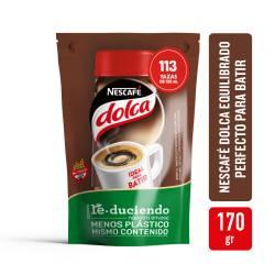 Café Instantáneo Torrado Pack Inteligente Dolca x 170 g.