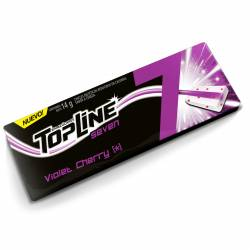 Chicle Top Line Violet Cherry 7 x 14 g.