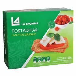 Tostadas Light La Anónima x 140 g.