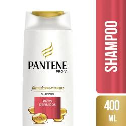 Shampoo Pantene MAX PRO-V Rizos Definidos x 400 cc.