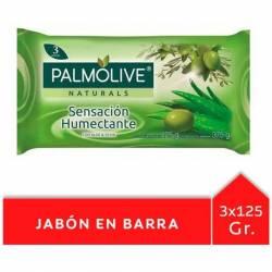 Jabón de Tocador Palmolive Aloe Vera y Oliva x 3 un. x 375 g.