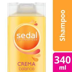 Shampoo Sedal Crema Balance x 340 cc.