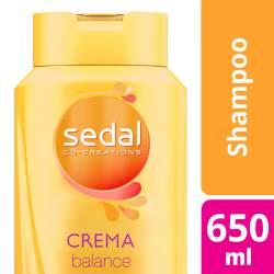 Shampoo Sedal Crema Balance x 650 cc.