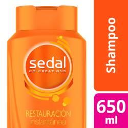 Shampoo Restauración Instantánea Sedal x 650 cc.