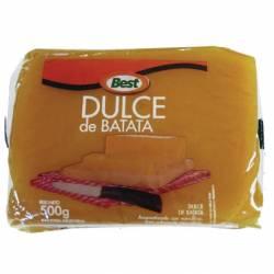 Dulce de Batata con Vainilla Best Pouch x 500 g.
