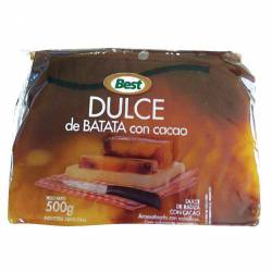 Dulce de Batata con Chocolate Best Pouch x 500 g.