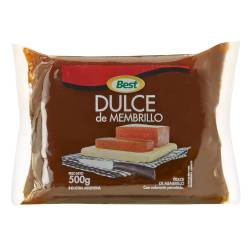 Dulce de Membrillo Best Pouch x 500 g.