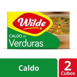 Caldo de Verduras Wilde x 57 g.
