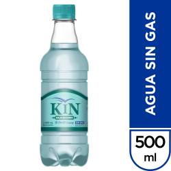Agua Mineral sin gas Kin x 500 cc.