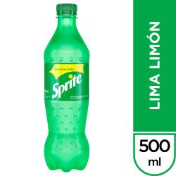 Gaseosa Sprite Lima Limón Pet x 500 cc.